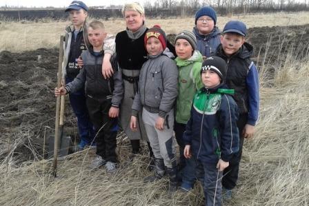 В Рязанской области 8 детей не подпустили огонь к жилым домам
