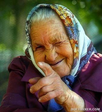 бабушка - надо их уважать