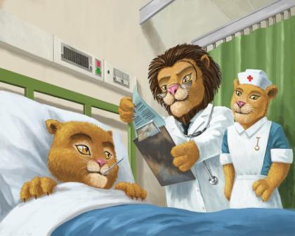 Львы - доктора