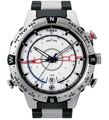 Часы и компас